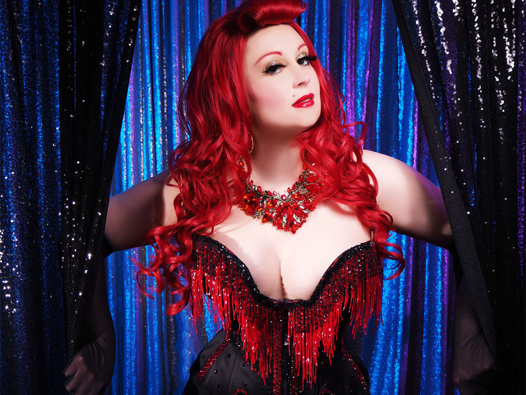 Miss Holly Hock, Burlesque Performer